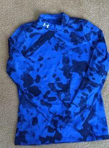 Under Armour boys cold gear long sleeve shirt EUC